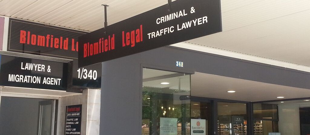 Griffith Criminal Lawyer Blomfield Legal